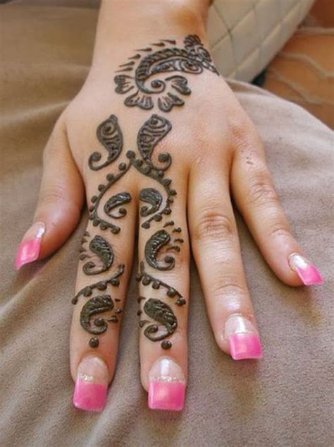 very simple henna tattoo 9 mehndi designs and their symbolic meaning