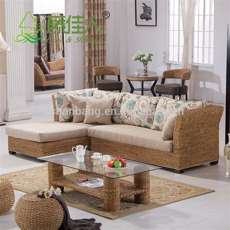 Seagrass Sectional Sofa Furniture Design Refil Sofa Seagrass Living Room Furniture