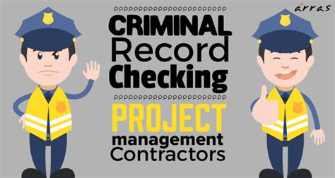 Cv Criminal Record Criminal Record Checking For Project Management Contractors Arraspeople