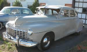 1948 dodge 4 door sedan doors gangster car that