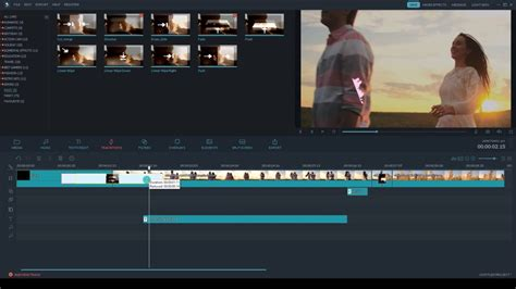 tutorial of filmora come fare una dissolvenza in entrata ed uscita dai video
