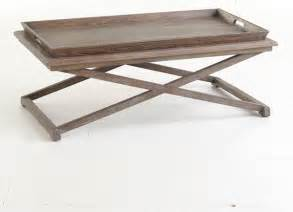 Trays On Coffee Tables Oak Tray Coffee Table Traditional Coffee Tables Dallas By Wisteria