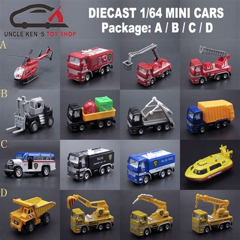 Promo Diecast Metal Complete Set 1 64 quality 1 64 scale diecast truck model 4pcs set metal engine set alloy cars with