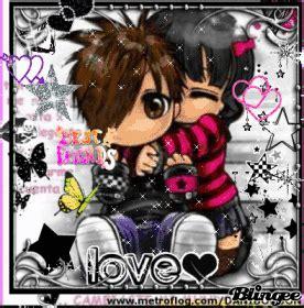 imagenes emo descargar fotos animadas emos enamorados para compartir 109754883