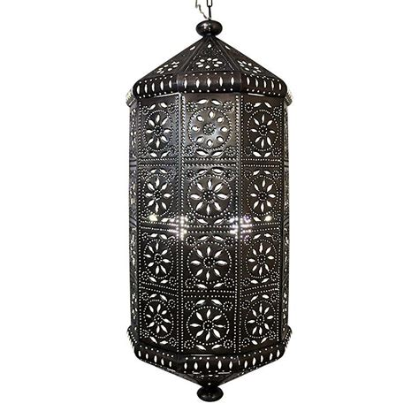 mexican punched tin lighting mexican tin lighting collection casablanca lantern lamc64