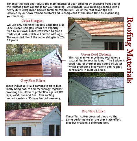 Shed Roof Covering by Modern Shed