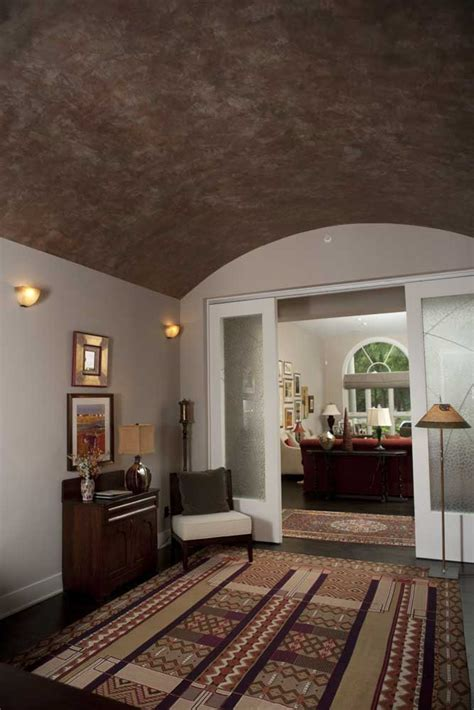 textural hues custom painted ceiling designs