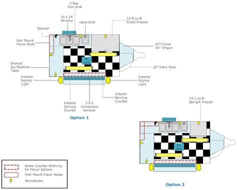 floor layouts shaved ice trailer layout 6 x10 dahlonega ga advanced