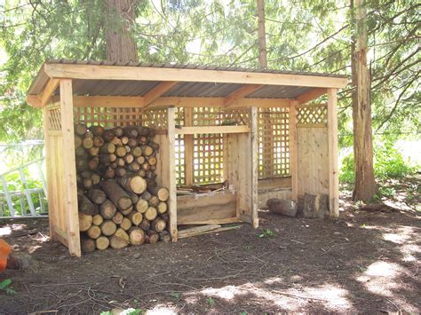 Wood Shed Building Plan Prime How To Build Woodshed House