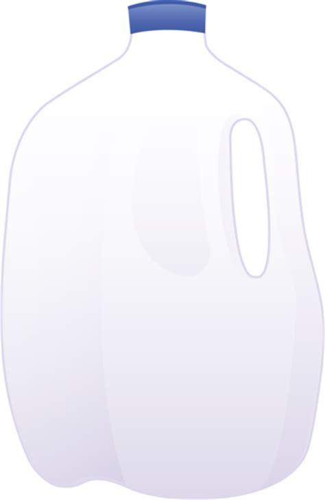 Gallon Clipart vector of a gallon of milk free clip