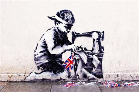 Controversial Banksy 'Slave Labour' Graffiti at Auction   Pursuitist