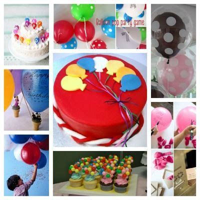 balloon themed birthday party 21 best images about balloon party on pinterest themed
