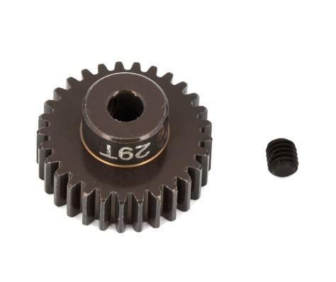 Pinion Gear Yokomo 48p 29t ft aluminum pinion gear 29t 48p team associated