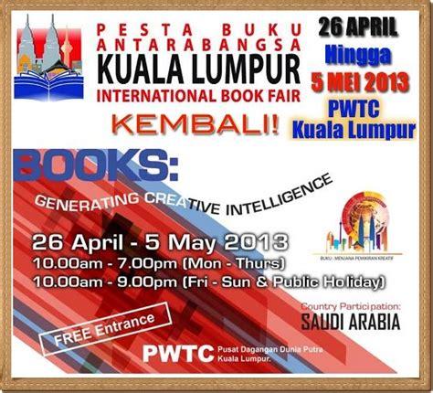 Rak Buku Murah Kuala Lumpur tarikh pesta buku antarabangsa pwtc kuala lumpur 2013