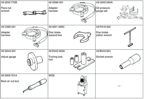 mazda special service tools mazda 6 service manual special tools
