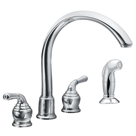 moen monticello kitchen faucet faucet com 7786 in chrome by moen