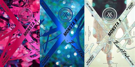 Monstax Brilliant Verminhyukgroup Poster monsta x 1st album the clan 2 5 quot beautiful quot