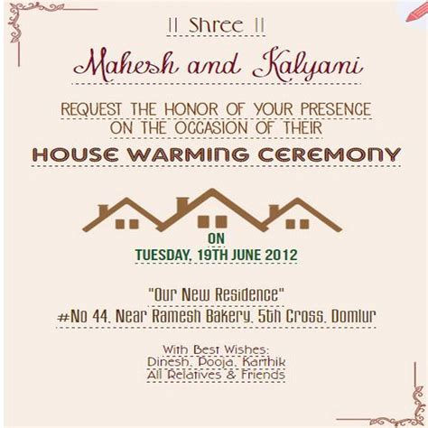 Invitation Letter Housewarming Ceremony 25 House Warming Ceremony Ideas On Banner Shapes Bridal Shower Banner Diy And
