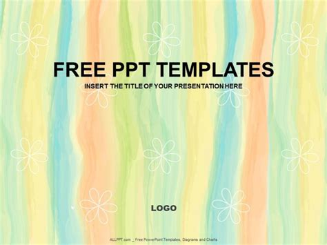 Free Powerpoint Template Design abstract floral ppt design free daily updates