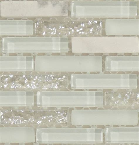 Tile Glitertile Metalik white glitter backsplash opal iridescent pearl kitchen white glitter