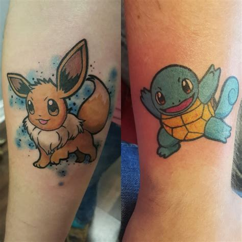 pokemon tattoo 23 awesome eevee tattoos