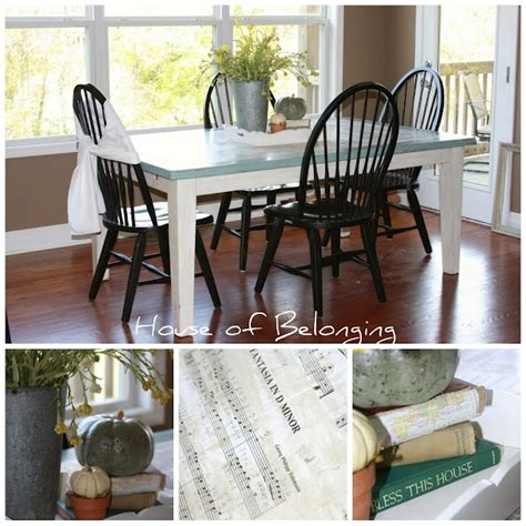 kitchen table redo diy projects