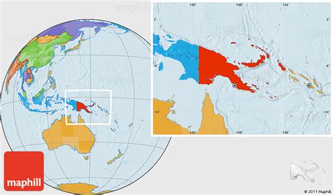 world map papua new guinea new guinea location images