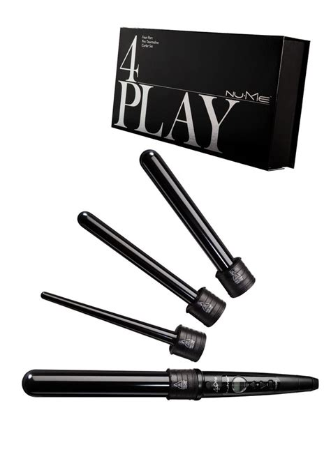 different styles with wand the 4play curling wand set different curl for each day