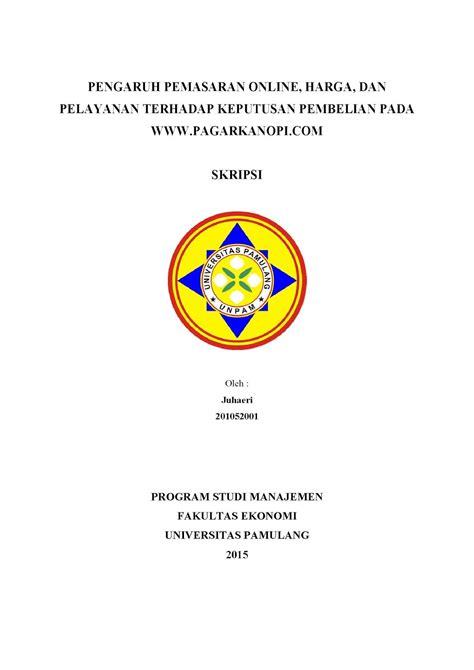 membuat makalah manajemen contoh cover proposal skripsi pendidikan contoh hu