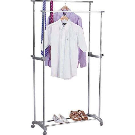 Clothes Rack Argos by Buy Home Adjustable Clothes Rail Silver At Argos