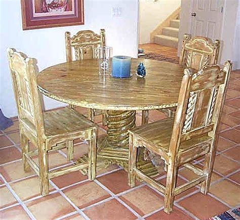 Southwest Style Table Ls by Mission Southwest Style Dining Set Tables Chairs China Cabinets