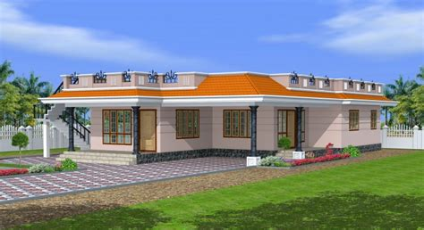 House Plans 1800 Sq Ft by 1800 Sq Ft Kerala Style Single Floor 3 Bedroom House