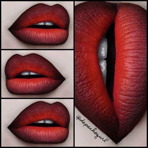 Ombre Lipstick Ideas ombre makeup ideas 2015 ombrelips lipsticks makeupideas makeup 2015 lipstick