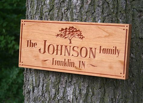 Cabin Signs by Custom Cabin Sign Sign For Lake House Family Name Sign