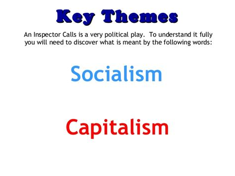 theme of conflict in an inspector calls an inspector calls gcse