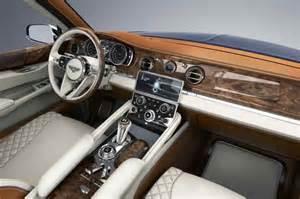 Bentley Suv Interior Bentley Reveals Possible Bentayga Suv Price Product
