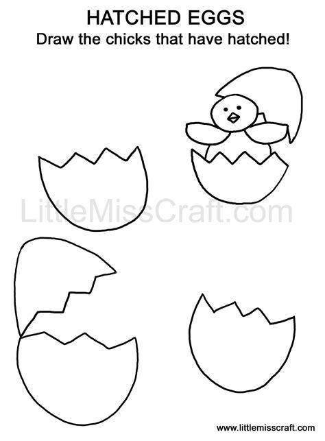 doodle how to make egg crafts hatched egg doodle coloring page