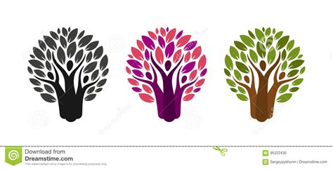 Abstract Tree And People Logo Ecology Environment Nature Label Or Icon Vector Illustration Ecology Family Tree Logo Stock Vector Illustration Of Biology 91037689