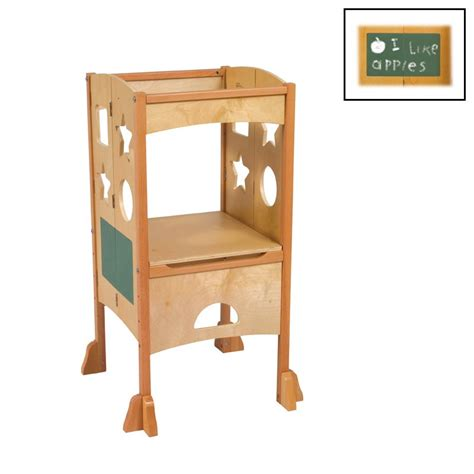 child step stool guidecraft g97325 kitchen helper kids step stool atg stores
