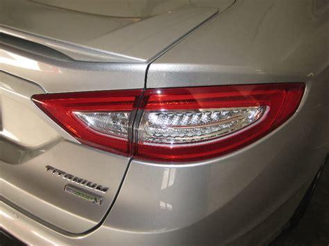 ford fusion tail lights 2014 ford fusion titanium sedan tail light housing