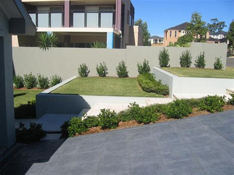 Front Yard Slope Landscaping Ideas - retaining walls design sydney stunning retaining walls by alliance landscape