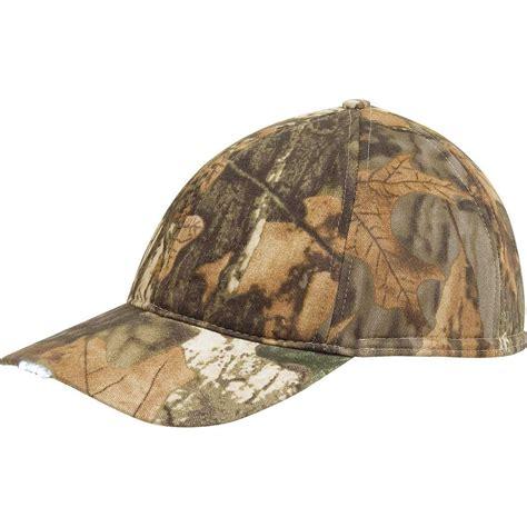 camo hat with light pyke camo cap with light