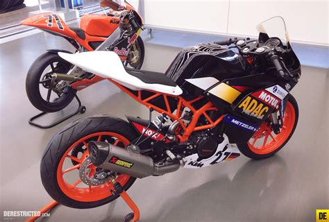 Ktm 390 Race Bike Ktm Rc 390 Adac Cup Bike Derestricted