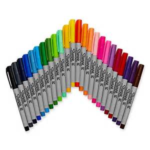 sharpie marker colors sharpie 32893pp ultra point permanent marker