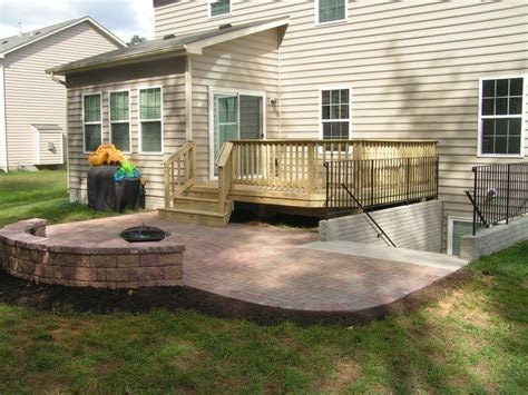 Patio Off Deck For The Home Pinterest Patio Decks Designs Pictures