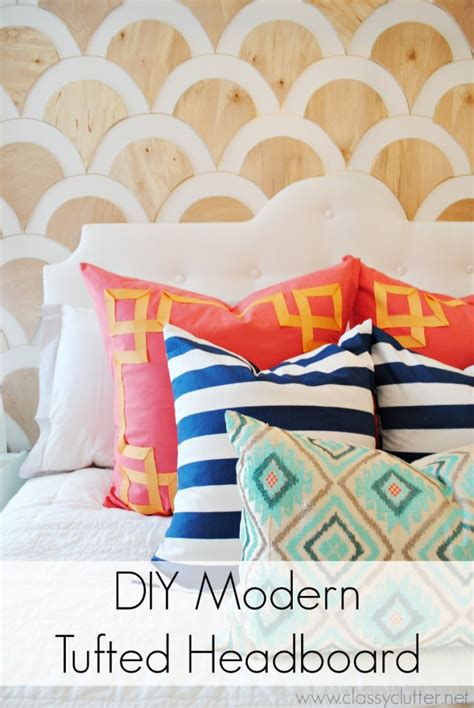 diy modern headboard 50 outstanding diy headboard ideas to spice up your bedroom page 2 of 2 diy projects