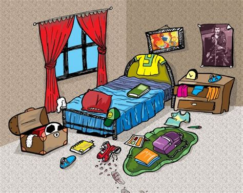 messy bedroom cartoon messy bedroom clipart www imgkid com the image kid has it