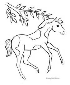 free printable horse coloring pages az coloring pages