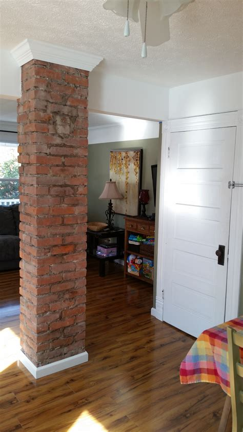 Chimney Only Fireplace - a client read our exposed chimneys and was inspired