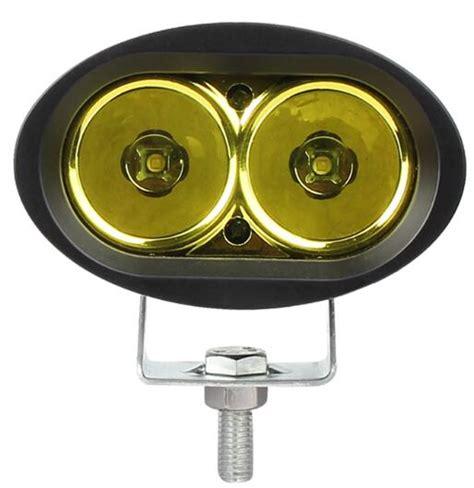 Cree Work Light Oval Lensa Ring 20 Watt 2pcs bule green white driving fog ls 3inch 20w oval led work light offroad